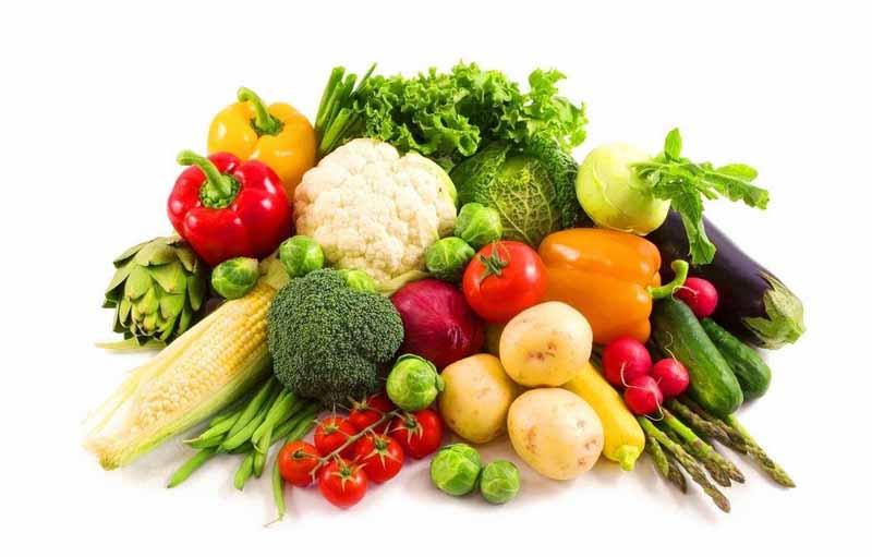 Bổ sung nhiều hoa quả, rau xanh bổ sung dinh dưỡng cho cơ thể