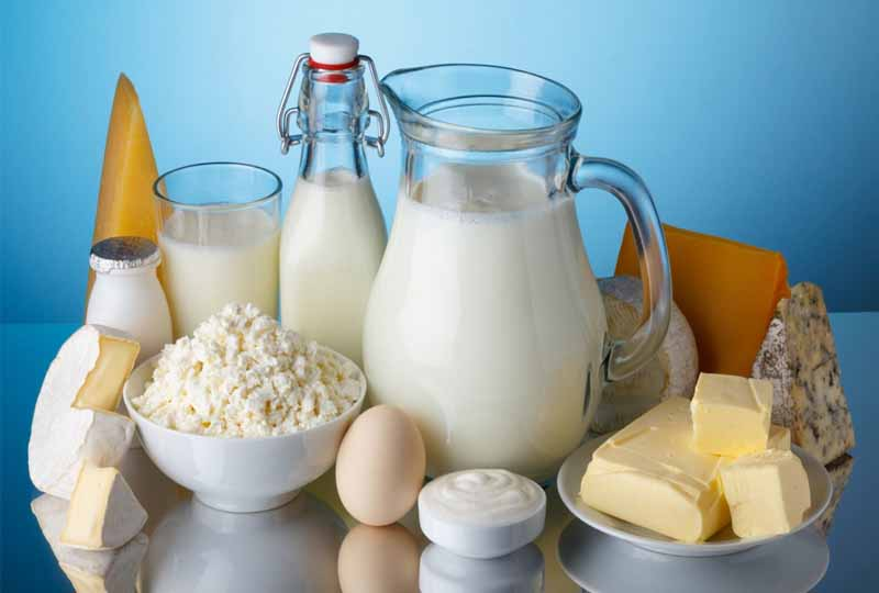 Thực phẩm làm từ sữa mềm và bổ sung dinh dưỡng tốt cho cơ thể