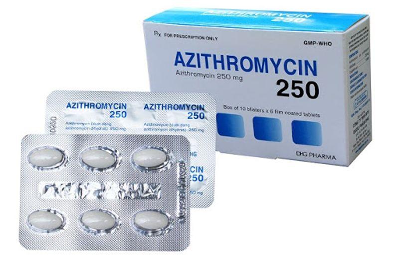 Azithromycin là một trong những loại kháng sinh chữa viêm lợi hiệu quả nhất.