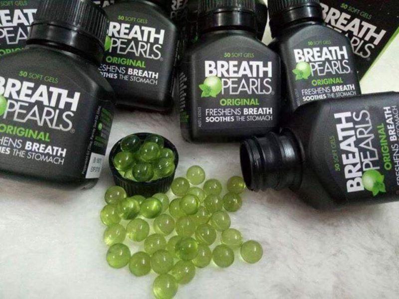 Thuốc chữa hôi miệng Breath Pearls