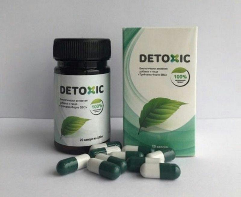 Thuốc trị hôi miệng Detoxic