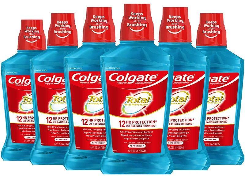 Nước xúc miệng Colgate Total Advanced Pro-Shield giảm hôi miệng hiệu quả