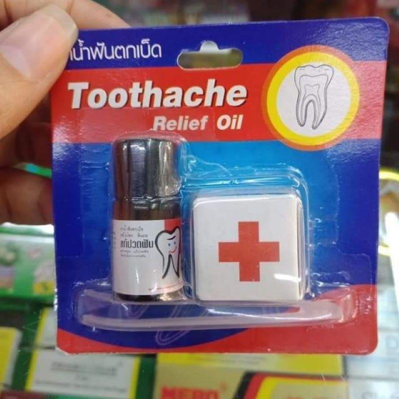 Toothache Relief Oil là sản phẩm trị sâu răng nổi tiếng ở Thái Lan