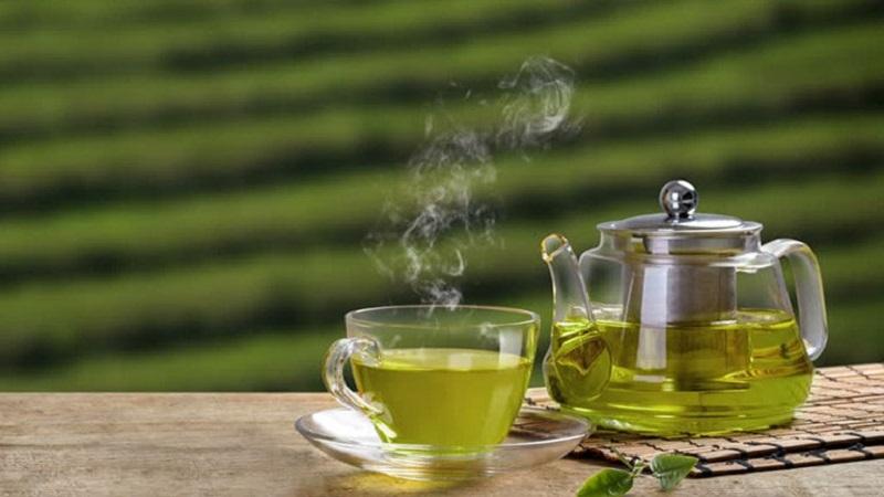 Trong trà xanh thường có chứa catechin, chất chống oxy hóa