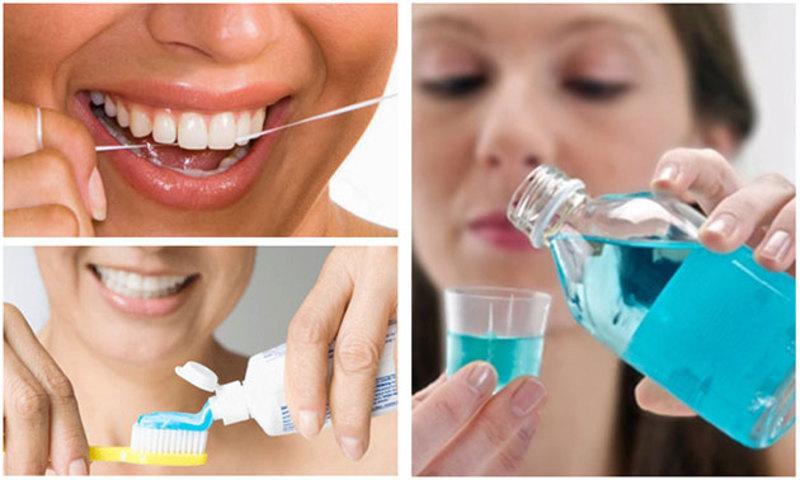Cần vệ sinh răng miệng thật sạch sẽ và đúng cách