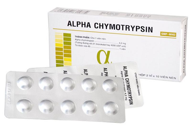 Thuốc sẽ phát huy tác dụng ngay để giảm thiểu tình trạng phù nề