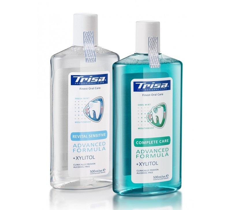 Trisa Complete Care là nước súc miệng của Thụy Sĩ