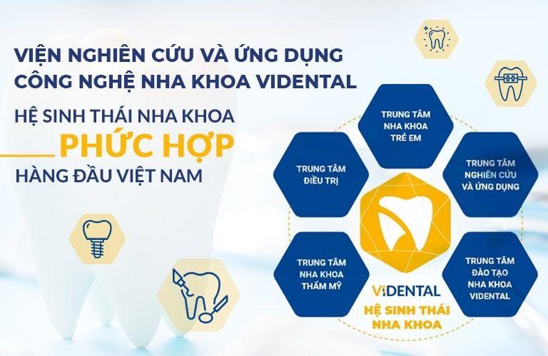 Viện Nha khoa Vidental sở hữu Hệ sinh thái nha khoa phức hợp hàng đầu tại Việt Nam