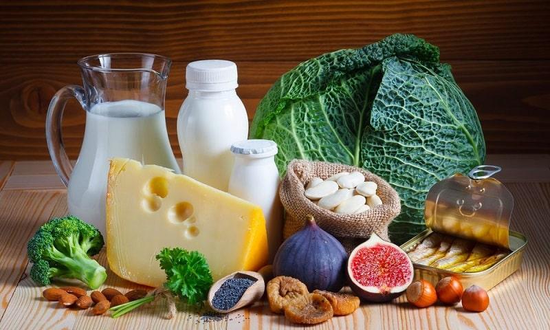 Tăng cường bổ sung thực phẩm giàu canxi để tốt cho sức khỏe răng miệng